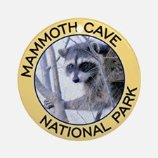 Mammoth Cave NP (Raccoon) Ornament (Round)