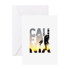 CA for California - Typo Greeting Cards
