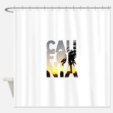 CA for California - Typo Shower Curtain