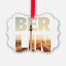 BERLIN CITY – Typo Ornament