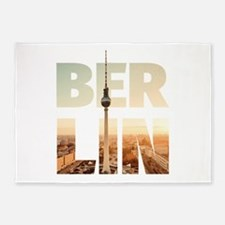BERLIN CITY – Typo 5'x7'Area Rug