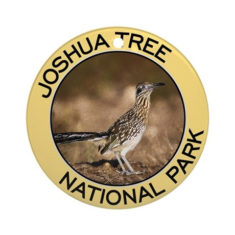 Joshua Tree NP (Roadrunner) Ornament (Round)