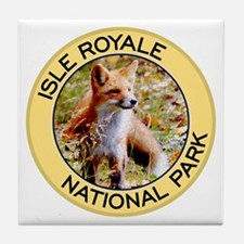 Isle Royale NP (Red Fox) Tile Coaster