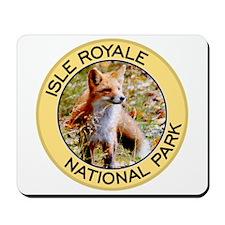 Isle Royale NP (Red Fox) Mousepad