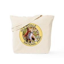 Isle Royale NP (Red Fox) Tote Bag