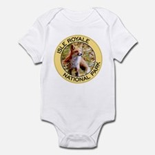 Isle Royale NP (Red Fox) Infant Bodysuit
