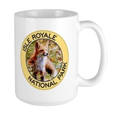 Isle Royale NP (Red Fox) Mug
