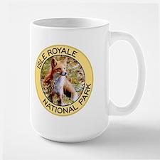 Isle Royale NP (Red Fox) Mug