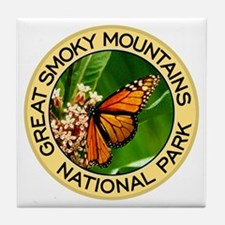 Great Smoky Mountains NP (Monarch Butterfly) Tile