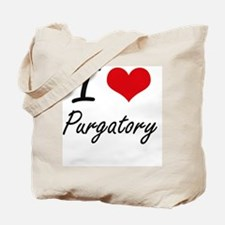 I Love Purgatory Tote Bag