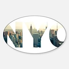 NYC for NEW YORK CITY - Typo Decal
