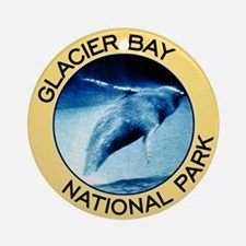 Glacier Bay NP (Humpback Whale) Ornament (Round)