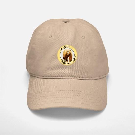 Glacier NP (Grizzly Bear) Baseball Baseball Cap