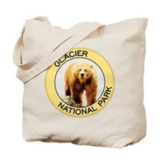 Glacier NP (Grizzly Bear) Tote Bag