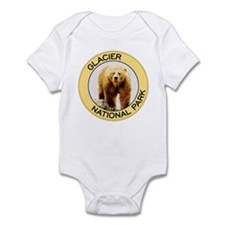 Glacier NP (Grizzly Bear) Infant Bodysuit