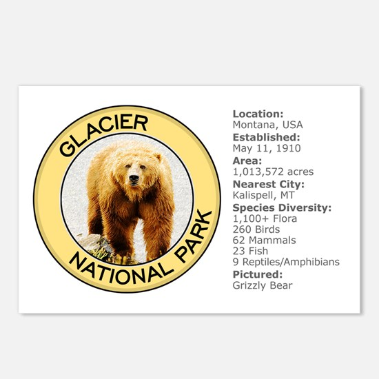 Glacier NP (Grizzly Bear) Postcards (Package of 8)
