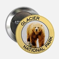 Glacier NP (Grizzly Bear) Button