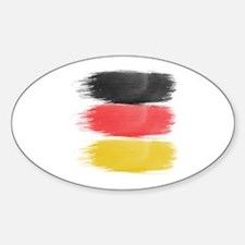 Germany Flag paint-brush Decal