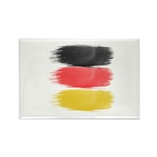 Germany Flag paint-brush Magnets