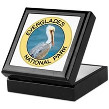 Everglades NP (Pelican) Keepsake Box