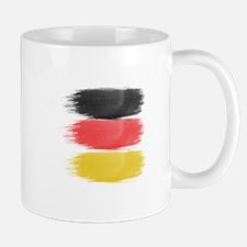 Germany Flag paint-brush Mugs