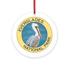 Everglades NP (Pelican) Ornament (Round)