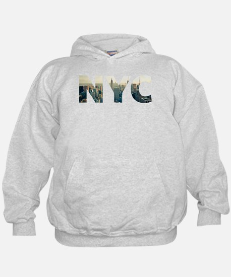 NYC for NEW YORK CITY - Typo Hoody