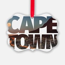 CAPE TOWN CITY – Typo Ornament