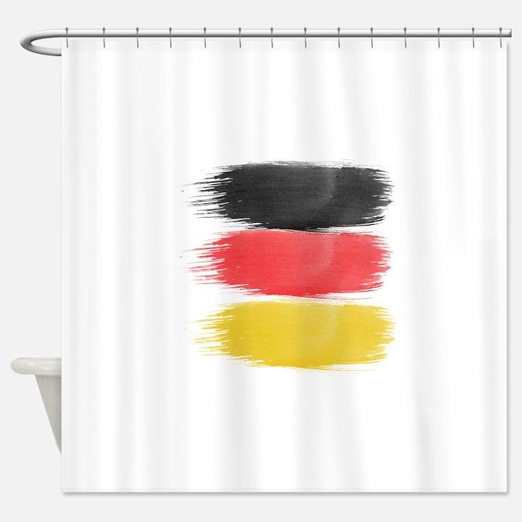 deutsch shower curtains deutsch fabric shower curtain liner. Black Bedroom Furniture Sets. Home Design Ideas