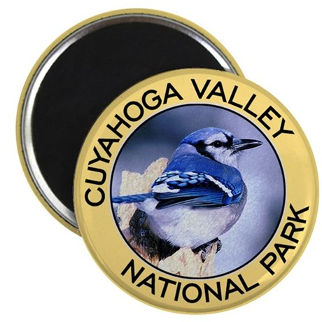 Cuyahoga Valley NP (Blue Jay) Magnet