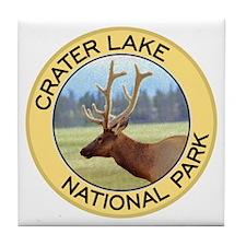 Crater Lake NP (Elk) Tile Coaster
