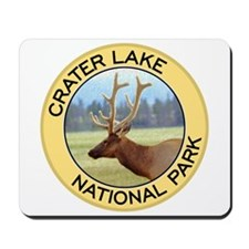 Crater Lake NP (Elk) Mousepad