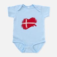 Denmark Flag Danmark Body Suit