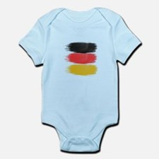 Germany Flag paint-brush Body Suit