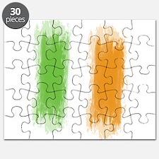 Ireland Flag Dublin Flag Puzzle