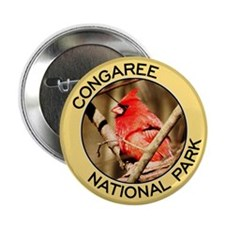 Congaree NP (Cardinal) Button