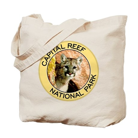 Capital Reef NP (Mountain Lion) Tote Bag