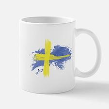 Sweden Flag Stockhol Mugs