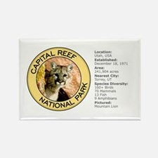 Capital Reef NP (Mountain Lion) Rectangle Magnet