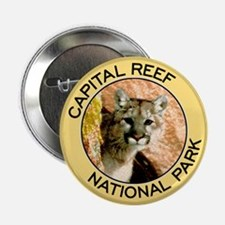 Capital Reef NP (Mountain Lion) Button