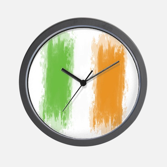 Ireland Flag Dublin Flag Wall Clock