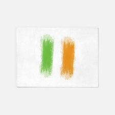 Ireland Flag Dublin Flag 5'x7'Area Rug