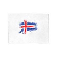 Iceland flag 5'x7'Area Rug