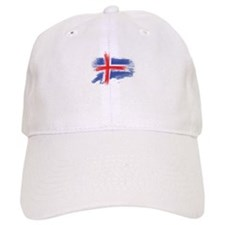 Iceland flag Baseball Cap
