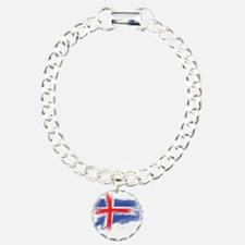 Iceland flag Bracelet