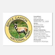 Bryce Canyon NP (Pronghorn Antelope) Postcards (Pa