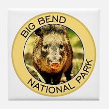 Big Bend NP (Javelina) Tile Coaster
