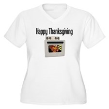 Happy Thanksgiving (turkey oven) T-Shirt