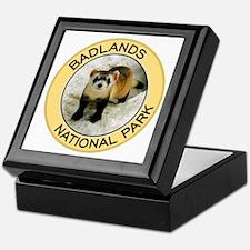 Badlands NP (Black-Footed Ferret) Keepsake Box