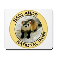 Badlands NP (Black-Footed Ferret) Mousepad
